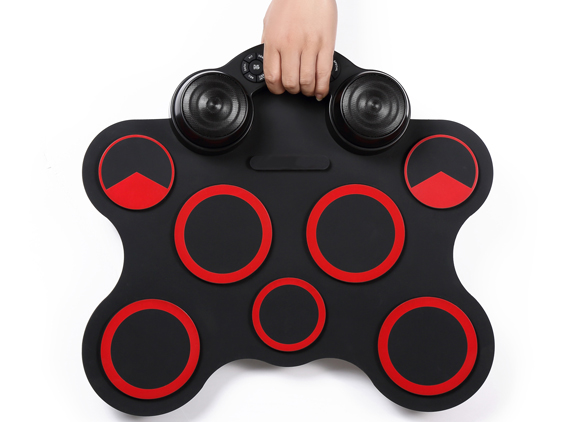 Portable Electronic Drum Set Built-in Hight Quality Speakers