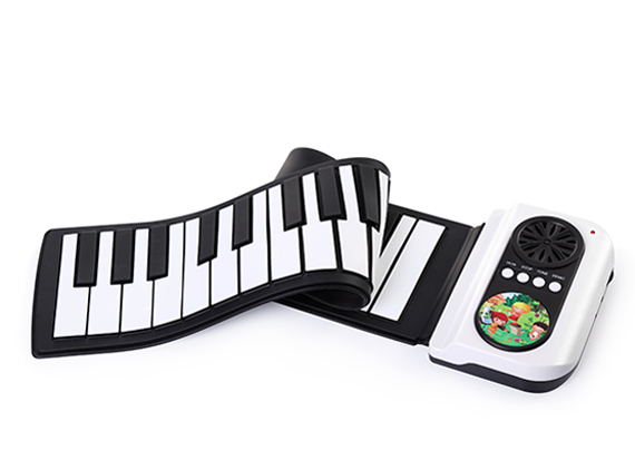 37 Key Roll Up Piano Learn To Play App Game With Speaker